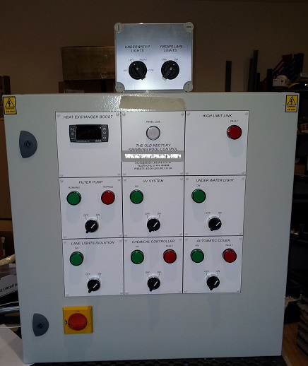 Swimming Pool Control Panel